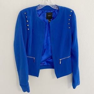Forever 21 Royal Blazer With Studs, Size S